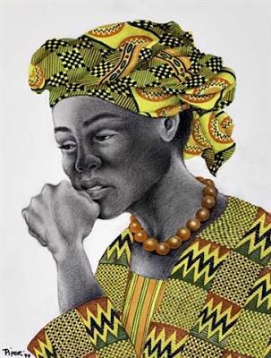 Роуз Пайпер Африканский народный костюм.