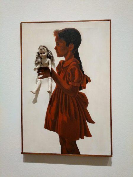 Адриан Пайпер Автопортрет в пятилетнем возрасте.