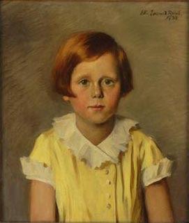 Эллен Эммет Ренд Портрет девочки с рыжими волосами