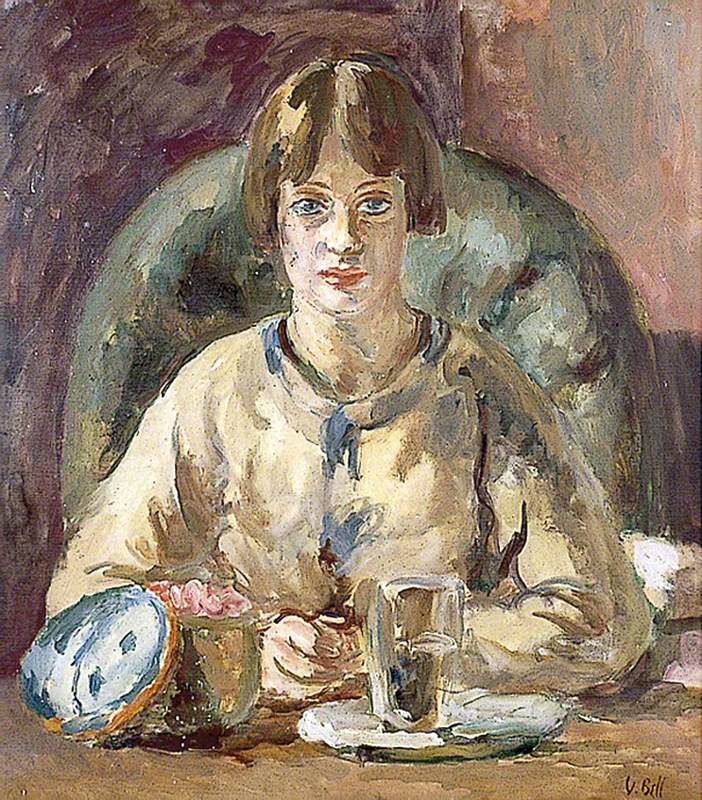 Ванесса Белл Портрет дочери художницы, Анжелики Гарнетт, которая также является художницей