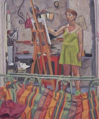 Мелисса Пинон (1972-) - французская художница, известная ппортретами и пейзажами.