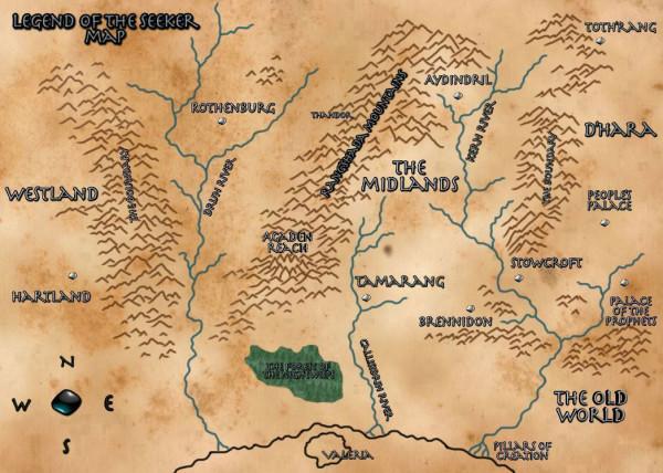 Legend of the seeker map legendofseeker legend of the seeker map gumiabroncs Choice Image