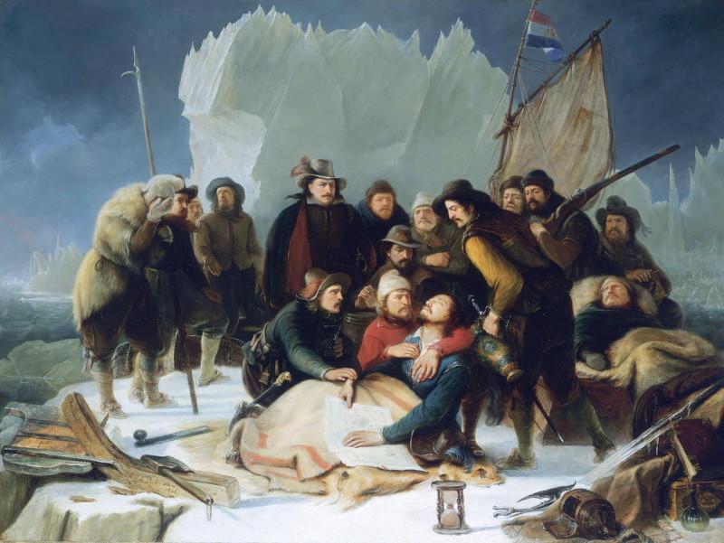 Willem Barentsin kuolema jäälautalla
