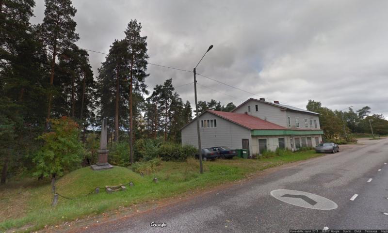 Uudenkylän muistomerkki (kuva: google street view)