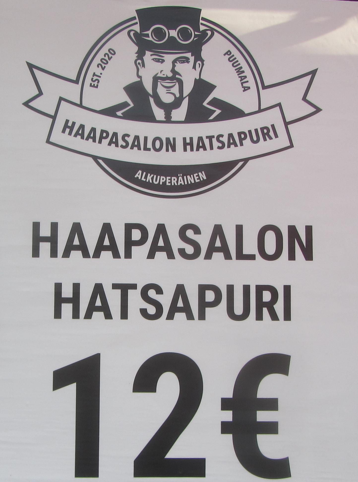 Georgian kävijät (Tbilisi ja Batumi, vuonna 2017) totesivat, että Villen hatsapuri edustaa hyvää tasoa!