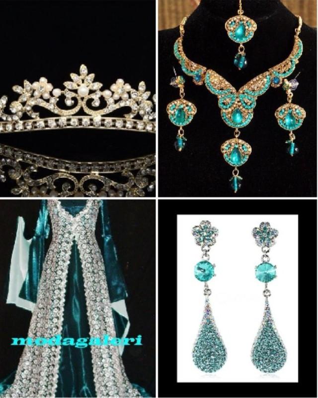 Платья и украшения великолепного века