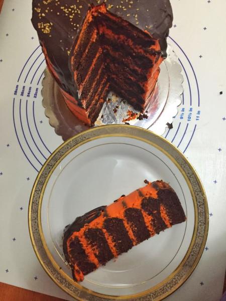 темный ларри торт рецепт пошагово с фото