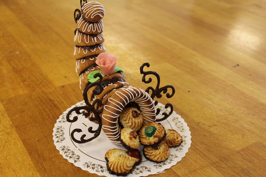 Свадебный торт Kransekaka