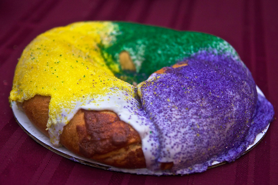 Луизианский королевский пирог