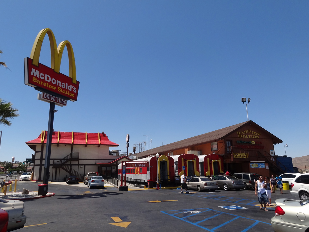 Barstow Station McDonald's