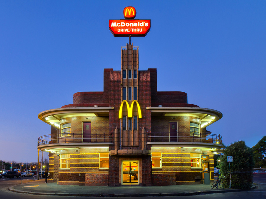 Old Hotel McDonald's