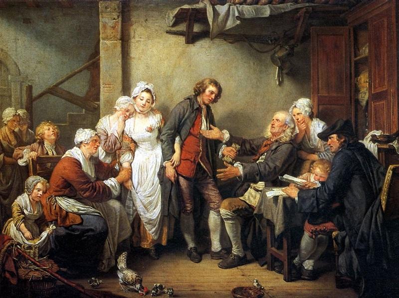 Деревенская помолвка