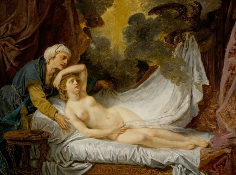 Посещение Эгины Юпитером (Зевсом)
