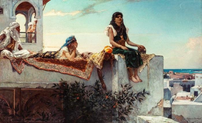 Терраса в Марокко