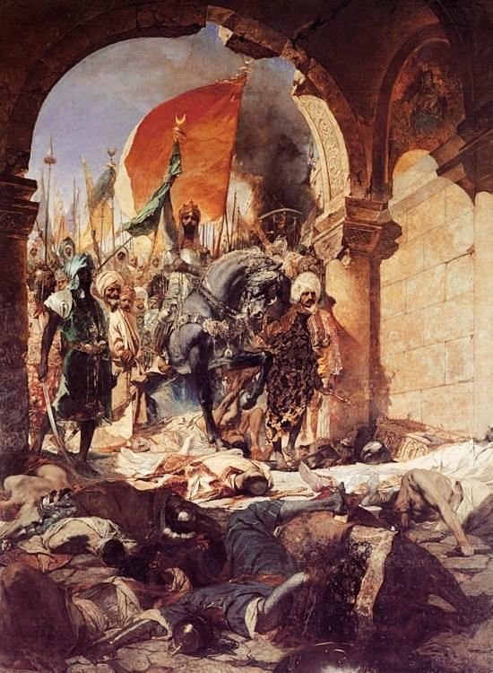 Вступление султана Мехмеда II в Константинополь 29 мая 1453