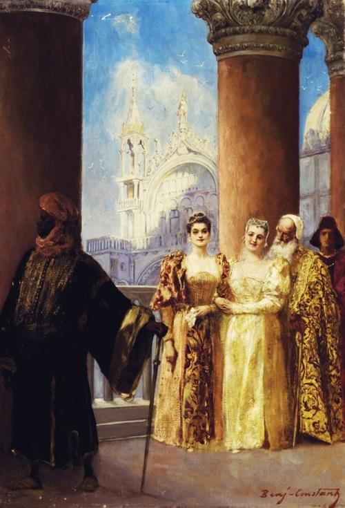Венецианские принцессы и их мавританская гвардия