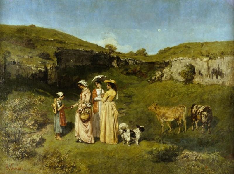 Молодые сельские дамы.