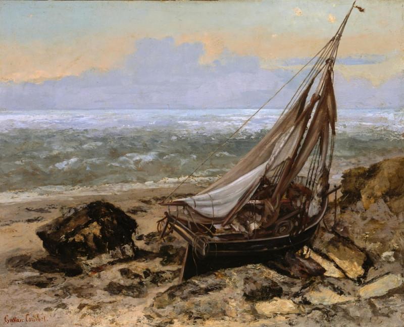 Рыбачья лодка.