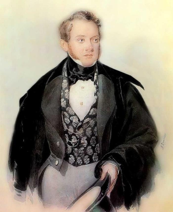Портрет С. А. Соболевского