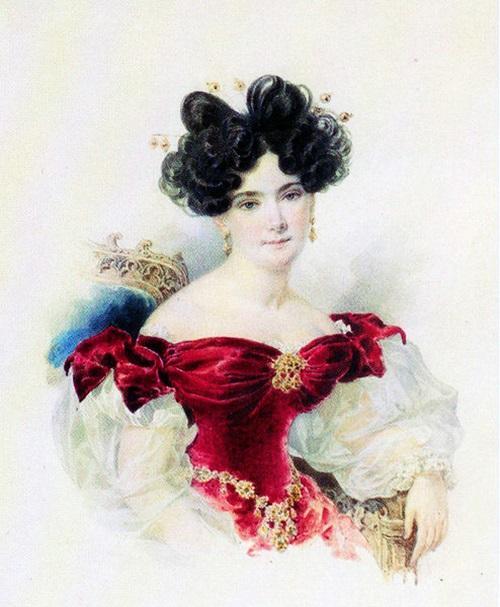 Баронесса Наталья Викторовна Строганова (1800-1854), урождённая Кочубей