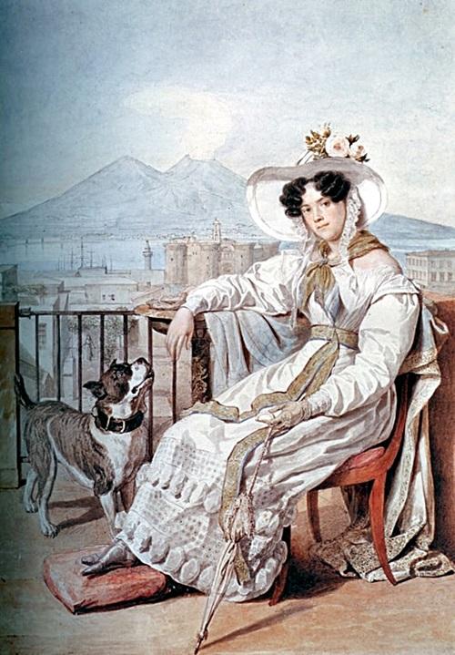 Портрет княгини Натальи Степановны Голицыной, урождённой Апраксиной