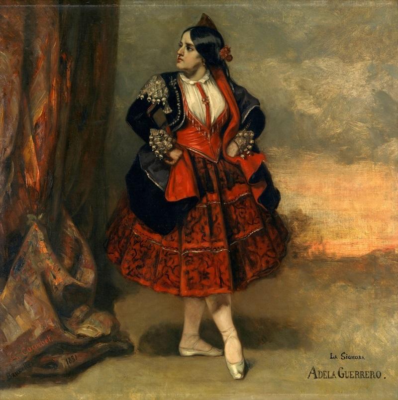 Синьора Адела Герреро, испанская танцовщица.