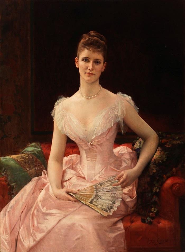 Оливия Пейтон Мюррей Каттинг, жена Уильяма Байярда Каттинга
