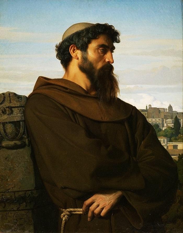 Римский монах