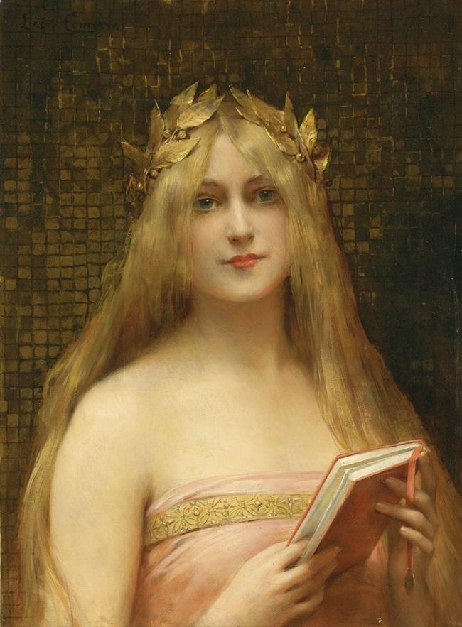 Античная красавица.