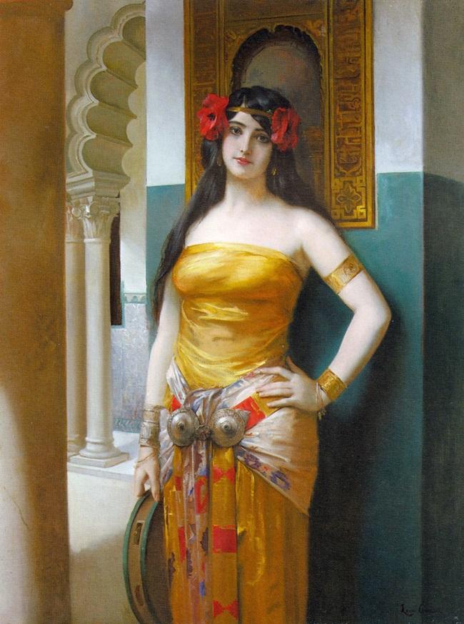 Мерием, арабская красавица.
