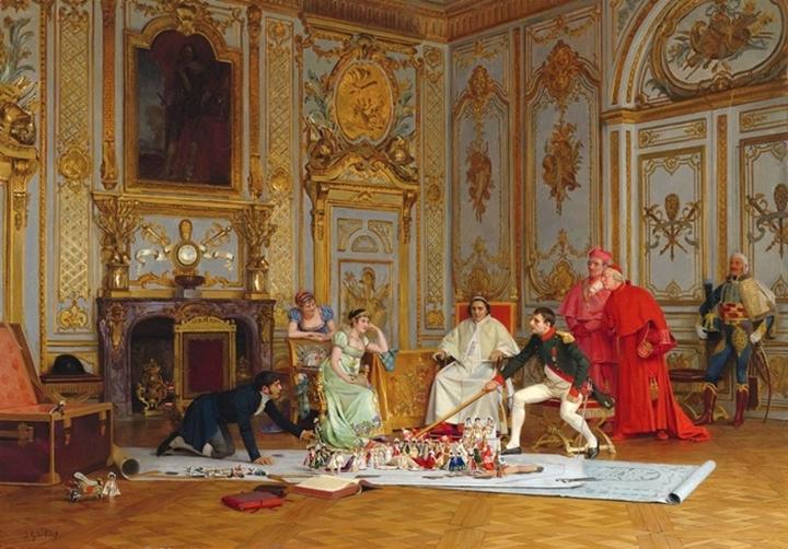 Планирование коронации Наполеона.
