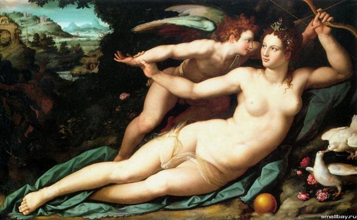 Венера и Купидон,