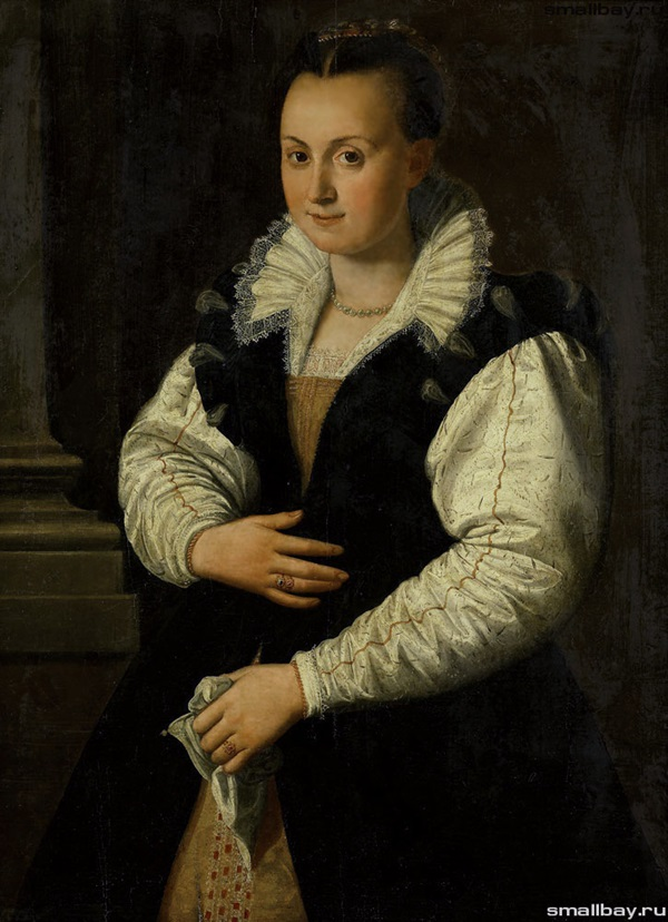 Портрет дамы, 1607