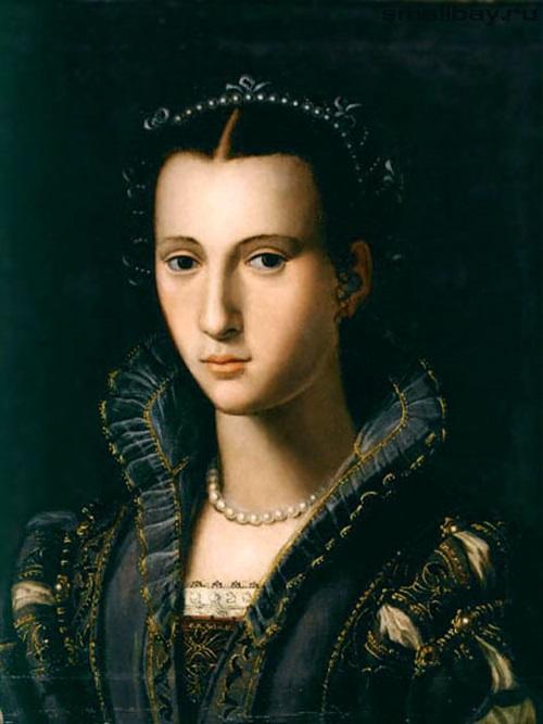 Портрет флорентийской дамы,