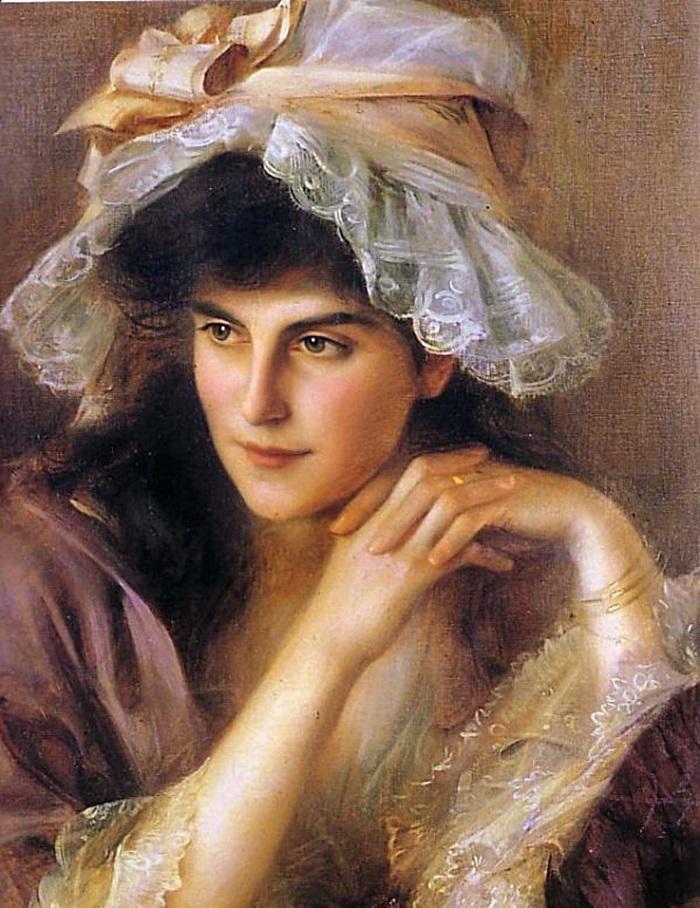 Портрет молодой женщины.