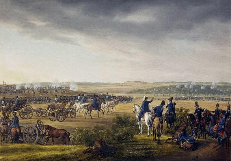 Битва за Москву 7 сентября 1812 г