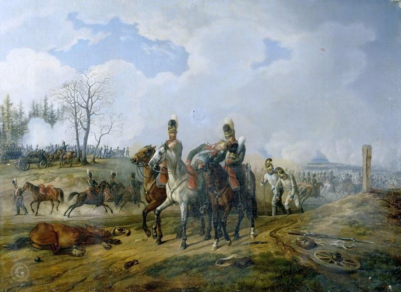 Битва при Абенсберге 20 апреля 1809 года
