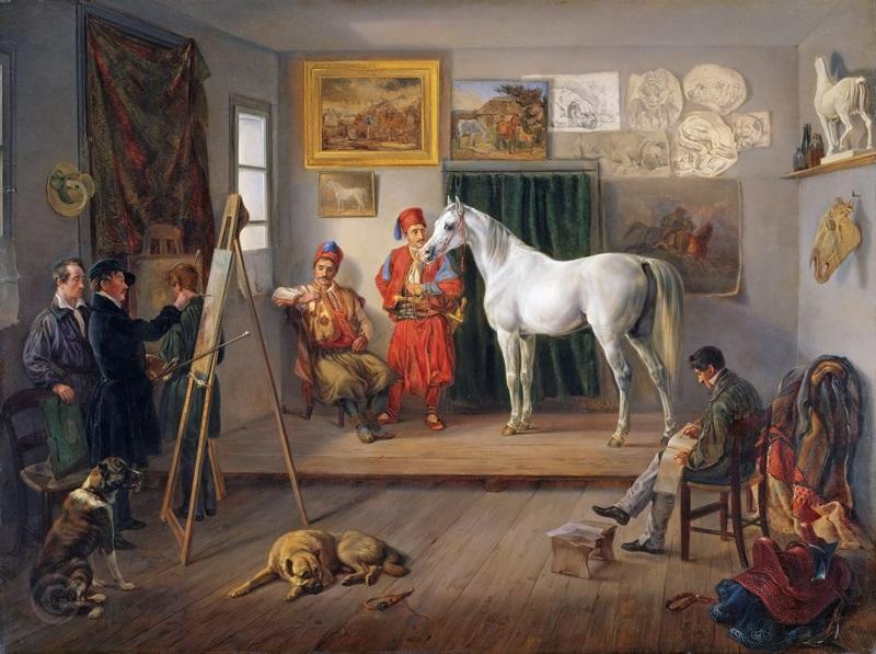 Мастерская художника в Мюнхене