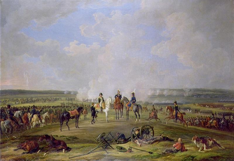 Наполеон и его войска в Бешенковичи, 24 июля