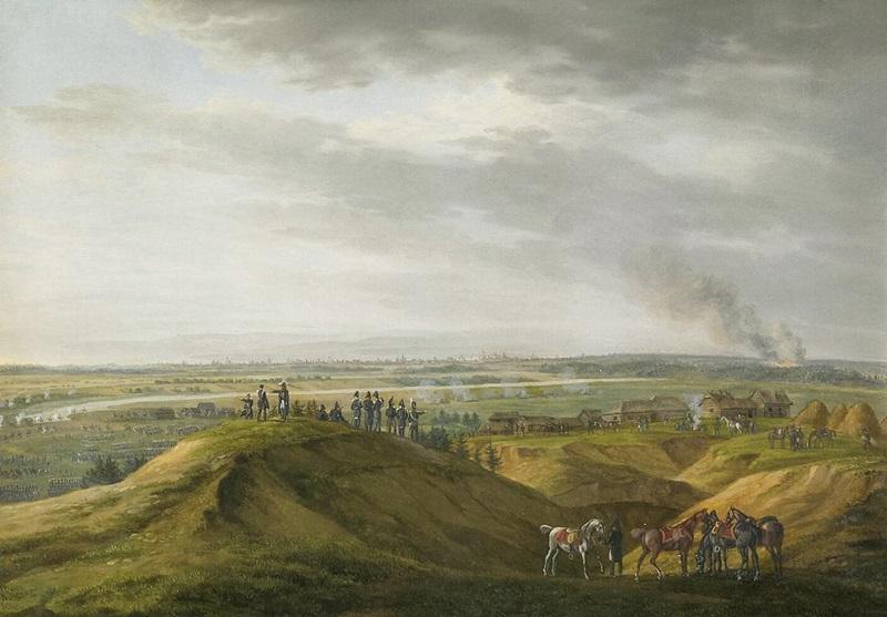 Под Москвой 14 сентября 1812 г.
