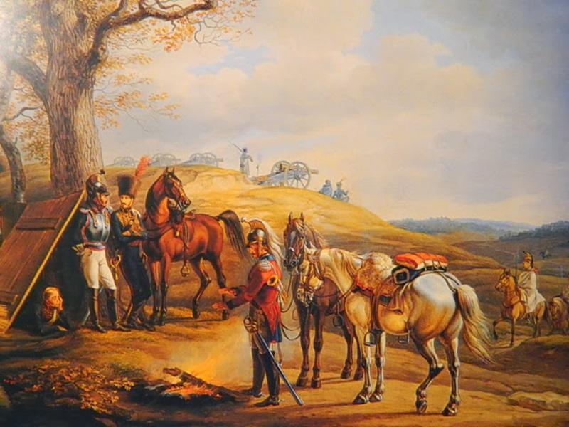 форпост французской конной артиллерии