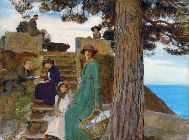 Пикник на Портофино.