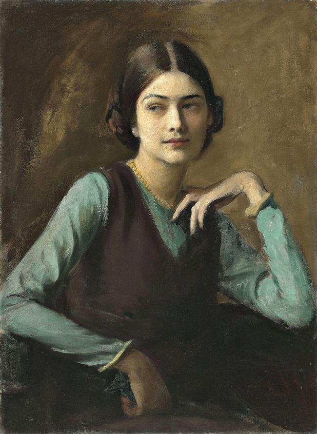 Портрет Клотильды фон Дерп (г-жа Сахарова).