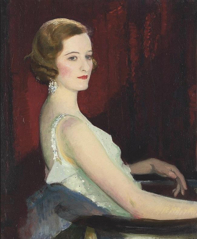 Портрет мисс Битон.