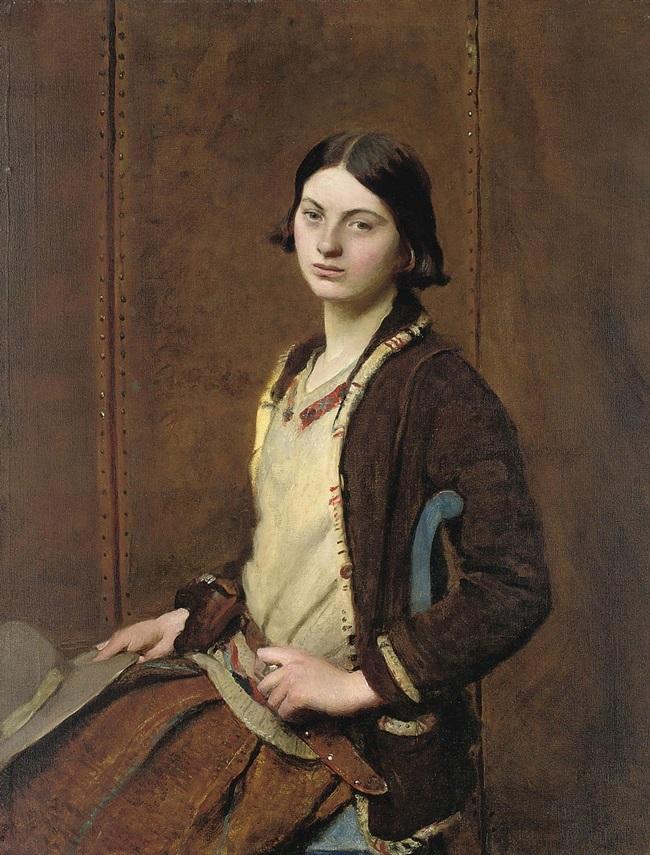 Портрет Мэри Спенсер Уотсон.