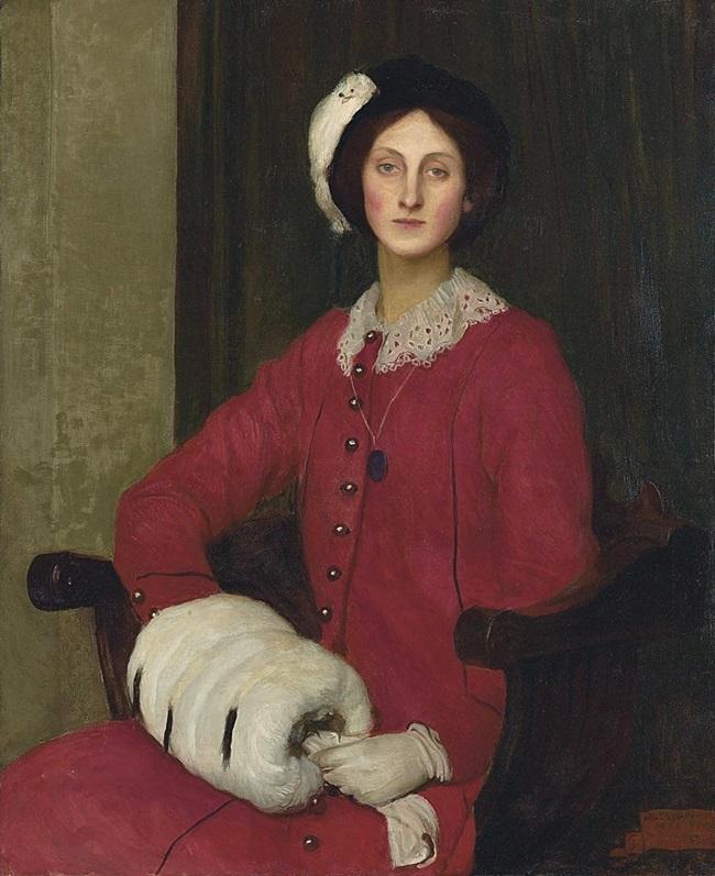 Портрет Хильды Спенсер Уотсон.