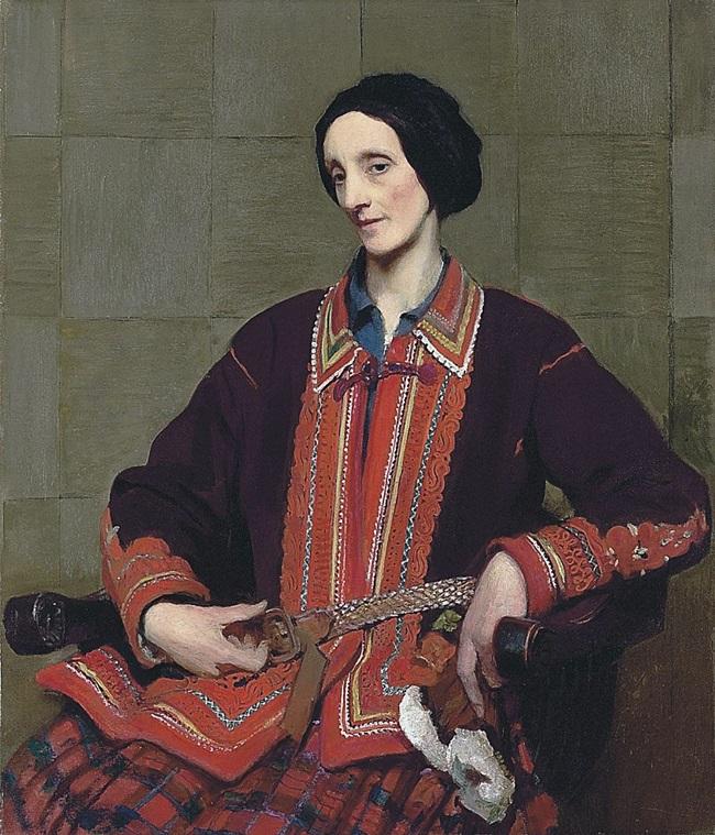 Портрет Хильды Уотсон.