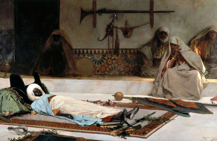 День похорон (Смерть эмира).