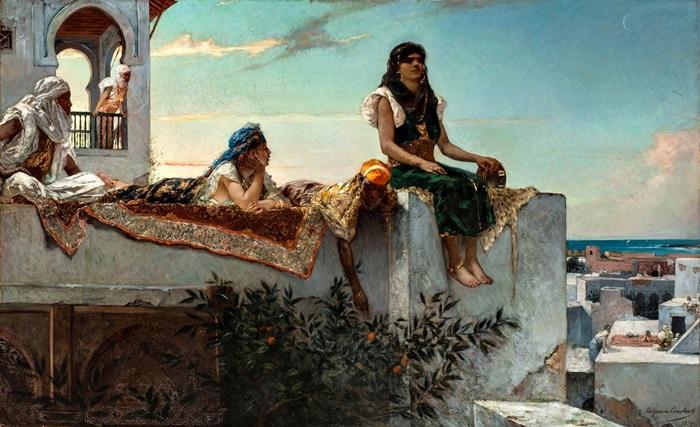 Терраса в Марокко.