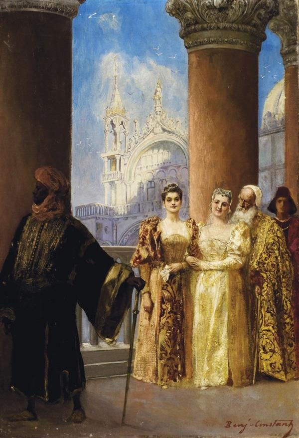 Венецианские принцессы и их мавританская гвардия.